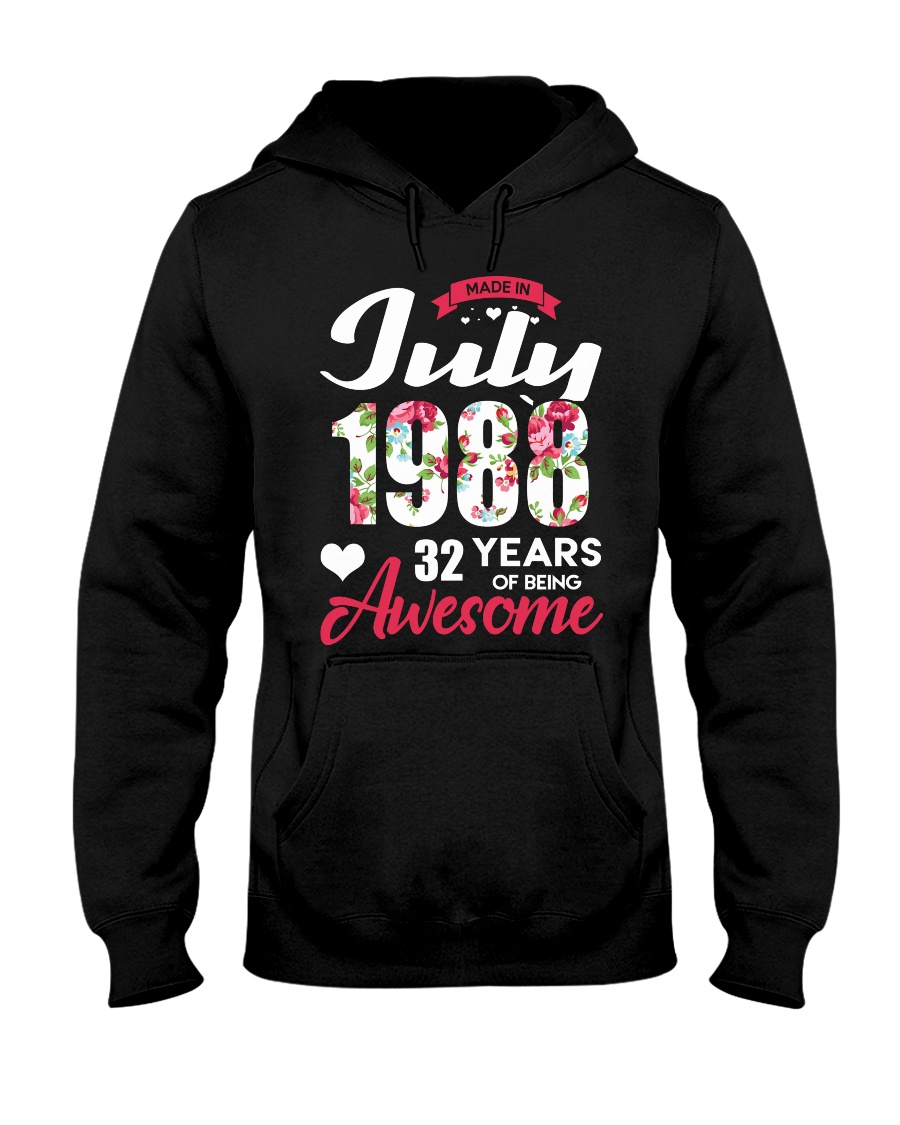 July 1988 - Special Edition Hooded Sweatshirt