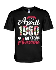 April Girl - Special Edition V-Neck T-Shirt thumbnail