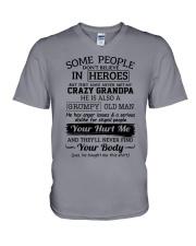 Crazy Grandpa - Special Edition V-Neck T-Shirt thumbnail