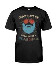 I'm A Beardiful Classic T-Shirt front
