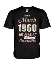 March Girl - Special Edition V-Neck T-Shirt thumbnail