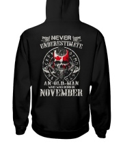 Never Underestimate An Old Man Hooded Sweatshirt thumbnail