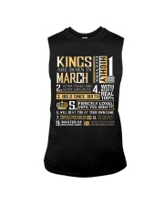 Kings Are Born In March  Sleeveless Tee tile
