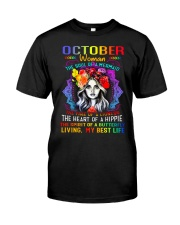 October Woman - Special Edition Classic T-Shirt front