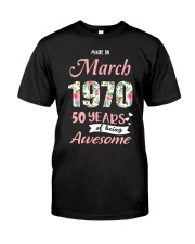 March Girl - Special Edition Classic T-Shirt tile