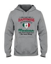 You Can't Buy Happiness Mexican Hooded Sweatshirt thumbnail