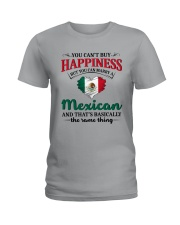 You Can't Buy Happiness Mexican Ladies T-Shirt thumbnail