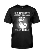 Chubby Bearded Guys Classic T-Shirt front