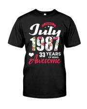 July 1987 - Special Edition Classic T-Shirt tile