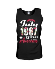 July 1987 - Special Edition Unisex Tank thumbnail