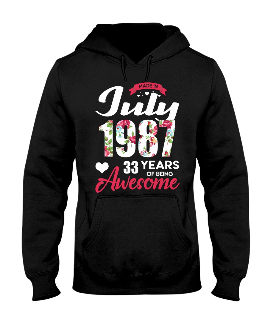July 1987 - Special Edition Hooded Sweatshirt