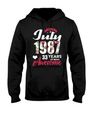 July 1987 - Special Edition Hooded Sweatshirt front