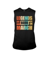 Legends Are Born In March Sleeveless Tee thumbnail