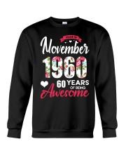 November Girl - Special Edition Crewneck Sweatshirt thumbnail