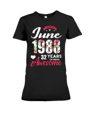 June 1988 - Special Edition Premium Fit Ladies Tee thumbnail