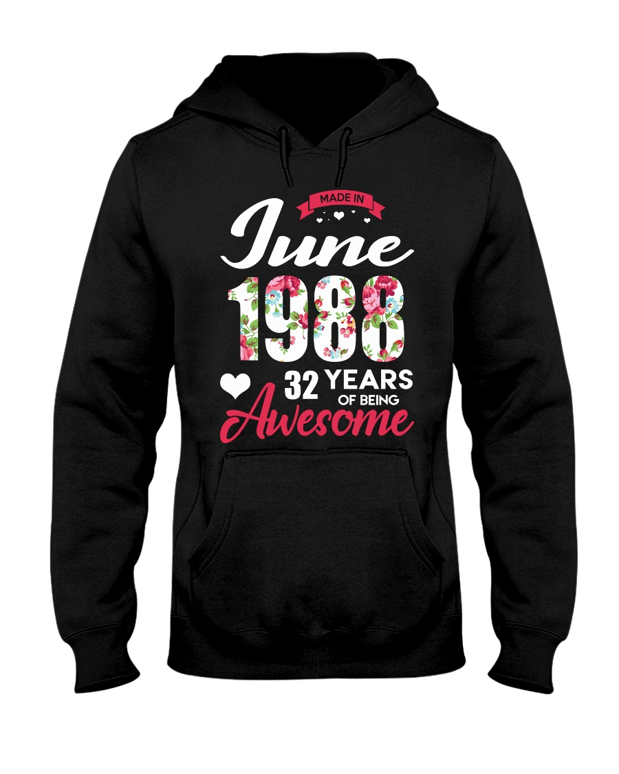 June 1988 - Special Edition Hooded Sweatshirt