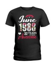 June 1988 - Special Edition Ladies T-Shirt thumbnail