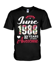 June 1988 - Special Edition V-Neck T-Shirt thumbnail