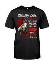 January Girl - Special Edition Classic T-Shirt front