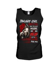 January Girl - Special Edition Unisex Tank thumbnail