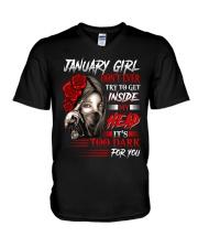 January Girl - Special Edition V-Neck T-Shirt thumbnail