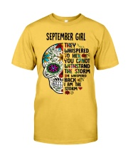 September Girl - Storm Classic T-Shirt front