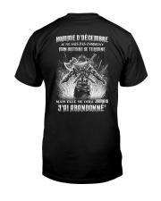 HOMME D'DÉCEMBRE Classic T-Shirt back
