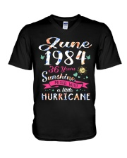 June 1984 - Special Edition V-Neck T-Shirt thumbnail