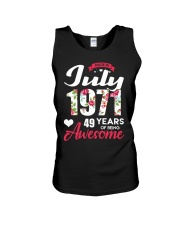 July 1971 - Special Edition Unisex Tank thumbnail