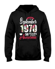 September Girl - Special Edition Hooded Sweatshirt front