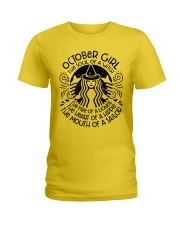 October Girl - Special Edition Ladies T-Shirt front