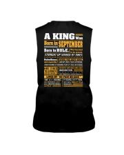 A King Was Born In September Sleeveless Tee thumbnail