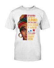 Soy Una Reina Nacida En Junio Classic T-Shirt front