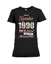 November Girl - Special Edition Premium Fit Ladies Tee tile