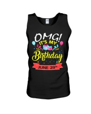 June 29th Unisex Tank thumbnail