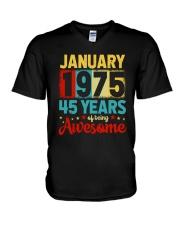 January 1975 - Special Edition V-Neck T-Shirt thumbnail
