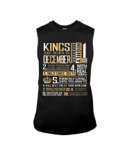 Kings Are Born In December  Sleeveless Tee thumbnail
