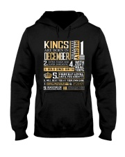 Kings Are Born In December  Hooded Sweatshirt thumbnail