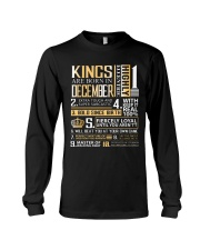 Kings Are Born In December  Long Sleeve Tee tile