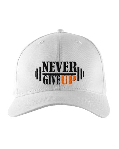 Never Give Up New design