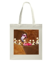 Flamingo - Daisy Patchwork Tote Bag thumbnail