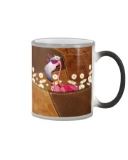 Flamingo - Daisy Patchwork Color Changing Mug thumbnail