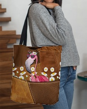 Flamingo - Daisy Patchwork All-over Tote aos-all-over-tote-lifestyle-front-09