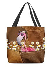 Flamingo - Daisy Patchwork All-over Tote back