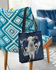 Goat Daisy Jean For Goat Lovers Tote Bag All-over Tote aos-all-over-tote-lifestyle-front-01