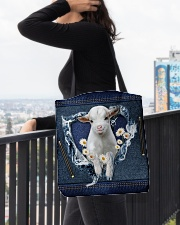 Goat Daisy Jean For Goat Lovers Tote Bag All-over Tote aos-all-over-tote-lifestyle-front-05