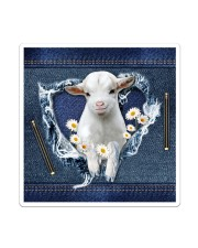 Goat Daisy Jean For Goat Lovers Tote Bag Sticker - Single (Vertical) thumbnail