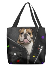 England Bulldog - Zip - All - Tote All-over Tote front