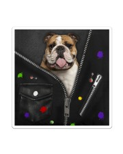 England Bulldog - Zip - All - Tote Sticker - Single (Vertical) thumbnail