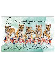 Tiger - God Says You Are 17x11 Poster front